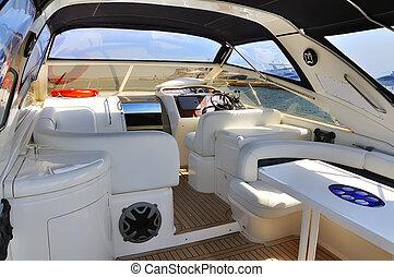 interior yach