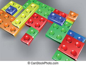 Interlock bricks design