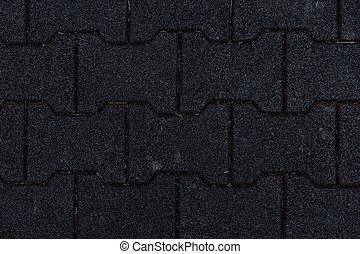 Interlocking Sidwalk Bricks Horizontal Background Image