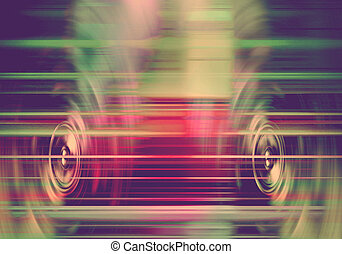interlocuteurs, musique, retro