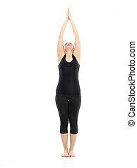 intermedio, actitud del yoga