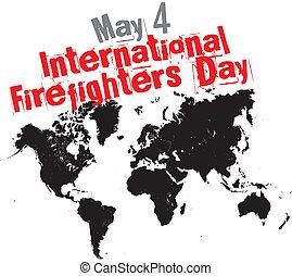 internacional, bombeiros, dia