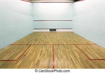 internacional, corte, squash