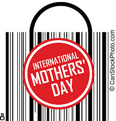 internacional, dia, mães