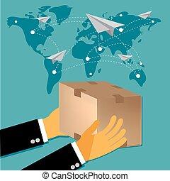 internacional, entrega