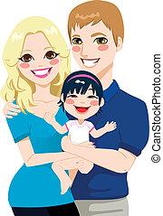 internacional, pareja, casado, adopción