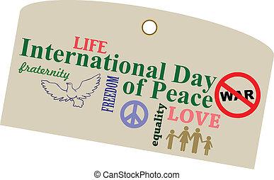 internacional, paz, día
