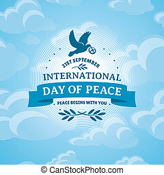 internacional, paz, dia