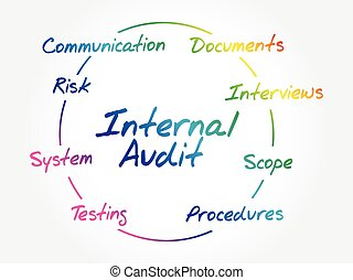 Internal Audit process circle