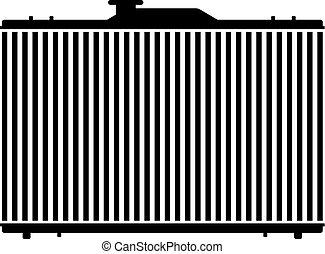 Internal combustion engine radiator - Internal combustion ...