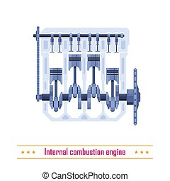 Internal combustion engine - Vehicle internal combustion...