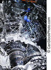 Sectional view of internal combustion engine