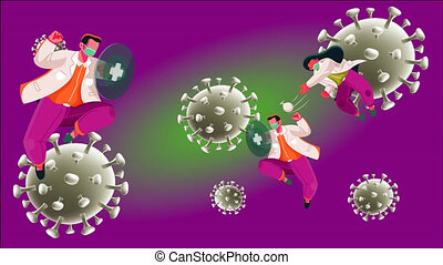 internal immune system fight with virus