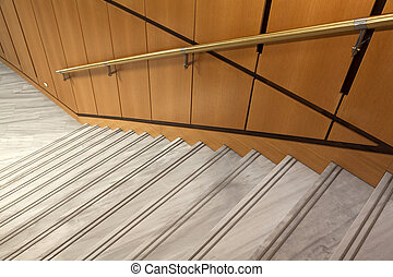 Internal stairs decor