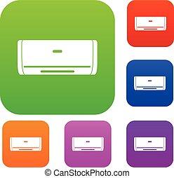 Internal unit air conditioner set color collection