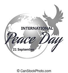 internationaal, vrede, dag