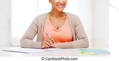 international, étudiant université, étudier