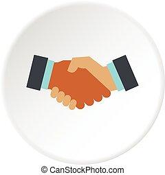 international, affaire, icône, cercle