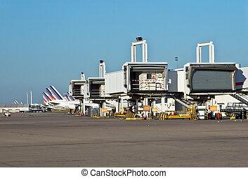 International airport - Charles de Gaulle international...