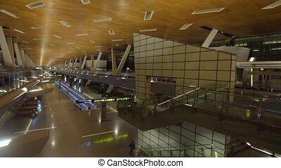 International airport in Doha, Qatar
