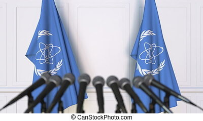 International Atomic Energy Agency IAEA official press...