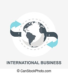 International Business - Vector illustration of ...