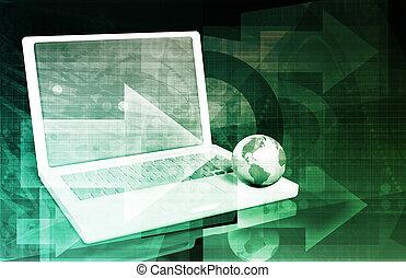 International Communication Network as a Business Concept