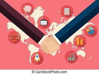 international, concept, business