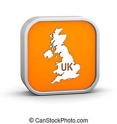 International country code sign - United Kingdom