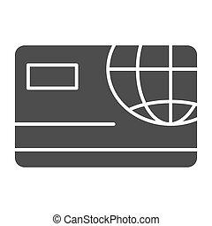 Fintech globe worldwide web payment 2d illustration shows
