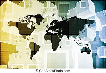 international, crise