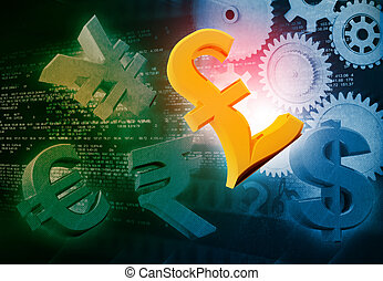 International currencies and gears