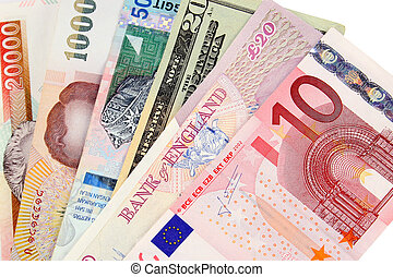 International Currencies - Selection of global currencies...