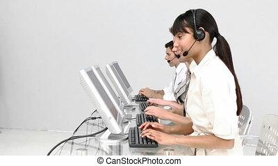 International customer service repr