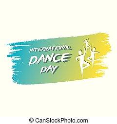 international dance day poster design