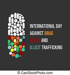 International day against drug abuse and illicit trafficking...