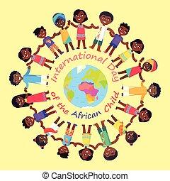 International Day of African Child Illustration