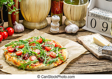 International Day of pizza in in February