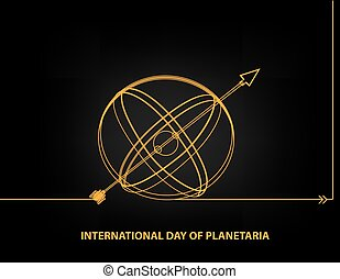 International Day of Planetaria - Calendar holiday on March 18