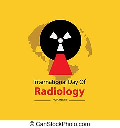 International Day of Radiology poster concept.