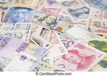 international, devises