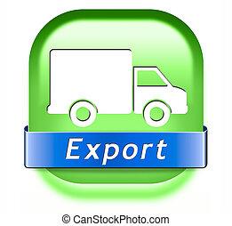 international, exportation, commercer