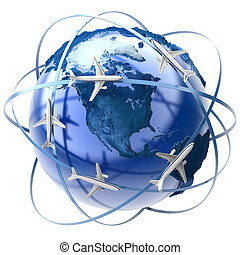 international færdes, luft