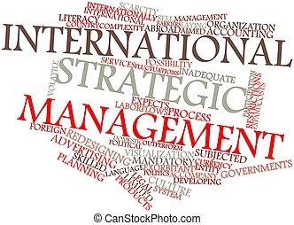 international, gestion, stratégique