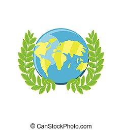 international human rights, world map peace emblem detailed