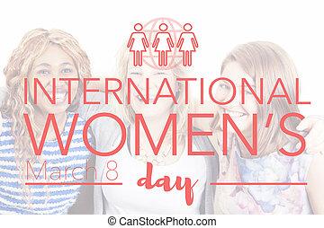 international, jour, femmes, mars, 8