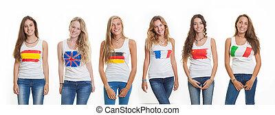 international language school students