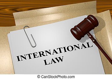 International Law concept