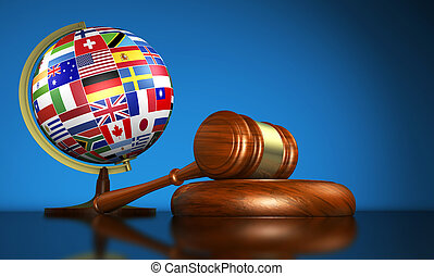 International Law School And Human Rights Concept -...