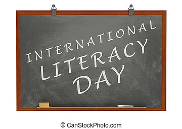 International Literacy Day concept